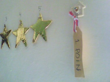 5 Bintang = 1 Poin