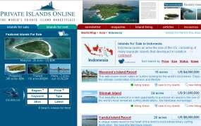 GAWAT] 3 Pulau di Jual di Internet Agustus 27, 2009